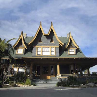 tahitian influenced house in los angeles california's best old house neighborhood