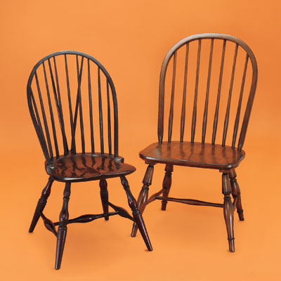 pottery barn windsor chair cute chairs for dorm rooms rocking antique style miniature artist vintage 1960 - outdoor dining