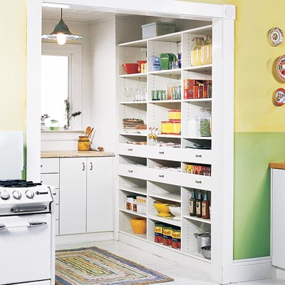 sunny nook pantry