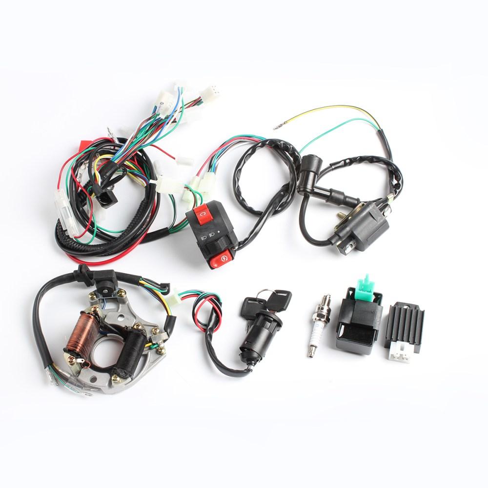 medium resolution of 50cc 70cc 90cc 110cc cdi wire harness