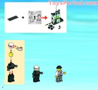 LEGO 7743 Police Command Center Set Parts Inventory and ...