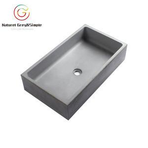 import square bare concrete cement wash