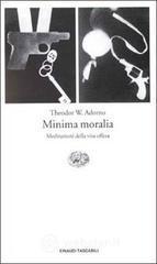 Minima moralia, copertina