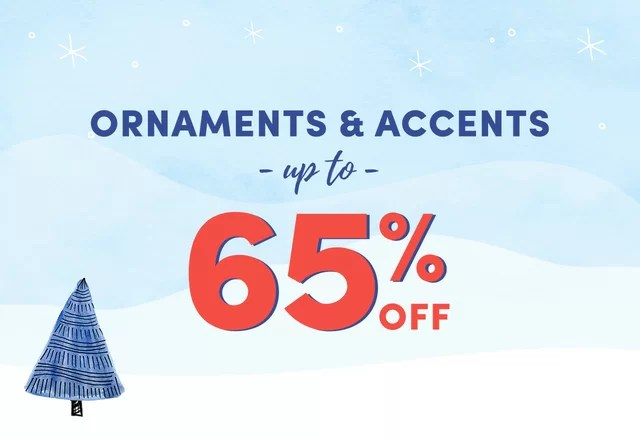 Ornament & Accent Clearance