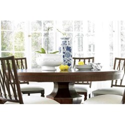 silhouette table dining universal furniture