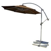 Coolaroo 10' Round Cantilever Patio Umbrella & Reviews ...
