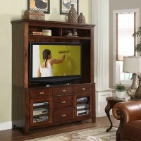 Riverside Furniture Castlewood Entertainment Center ...