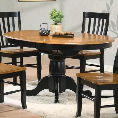 Quails Run Dining Table Round Single Pedestal