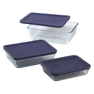 Pyrex 6 Piece Storage Set