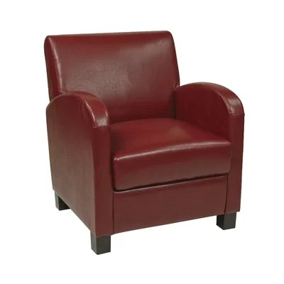 Office Star Eco Leather Club Armchair & Reviews