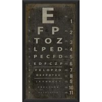 Blueprint Artwork Eye Chart Framed Textual Art & Reviews