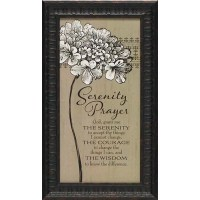 Artistic Reflections Serenity Prayer Framed Textual Art ...