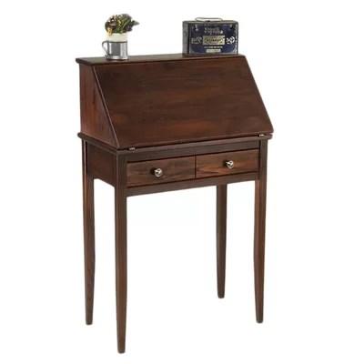 Manchester Wood Shaker Secretary Desk  Reviews  Wayfair