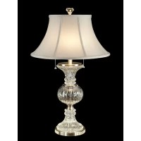 "Dale Tiffany Crystal Granada 28"" H Table Lamp with Bell ..."