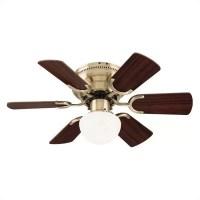"30"" Petite 6 Blade Ceiling Fan | Wayfair"