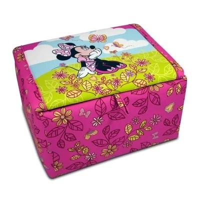 Disney Minnie Mouse Cuddly Cuties Toy Box Wayfair