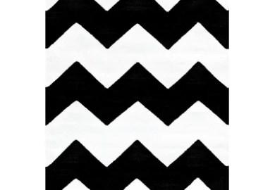 Black And White Chevron Bathroom Rug