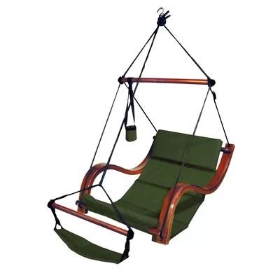 swing chair wayfair cushions adirondack chairs hammaka hanging with aluminum dowels best nami hammock lounge reviews