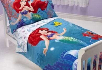 Piece Ariel Disney Princess Toddler Bedding Set