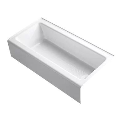 Princeton 60 X 30 Recess Bathtub With Integral Overflow Wayfair