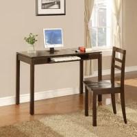 InRoom Designs Computer Desk and Chair Set & Reviews | Wayfair
