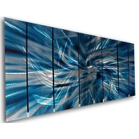 All My Walls 'Abstract' by Ash Carl 7 Piece Original ...
