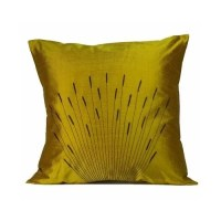 Jiti Branches Silk Throw Pillow & Reviews | Wayfair