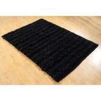 Chesapeake Seabury Black Shag Area Rug & Reviews | Wayfair
