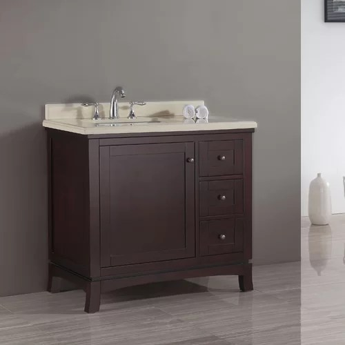 "Ove Decors Valega 36"" Single Bathroom Vanity Set & Reviews"