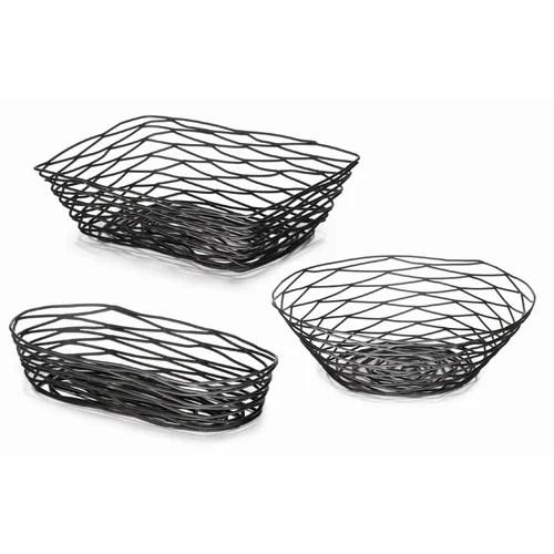 Tablecraft Artisan Coated Metal Bread Basket & Reviews