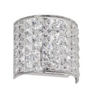 Dainolite Crystal 1 Light Wall Sconce & Reviews | Wayfair