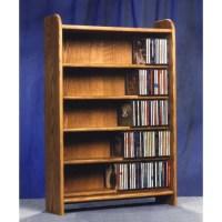 Wood Shed 500 Series 275 CD Multimedia Storage Rack ...