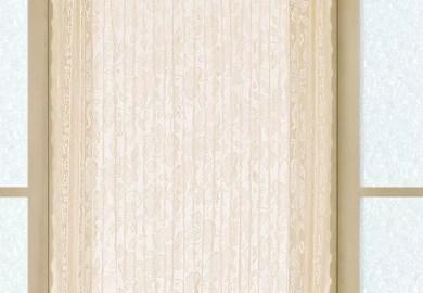 Rod Pocket Door Curtains