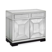 Bassett Mirror Taney Rolling Bar Cabinet