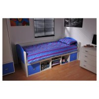 Solo Single Bed Frame with Underbed Storage | Wayfair UK