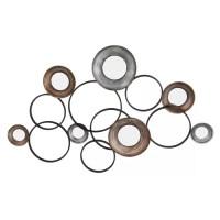 metal circle wall decor - 28 images - bronze circle metal ...
