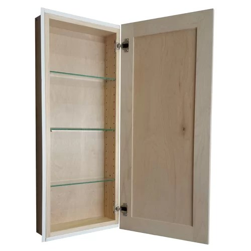WG Wood Products Recessed Medicine Cabinet & Reviews