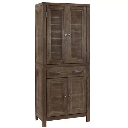 Cupboard Furniture Wood Pantry Bathroom Organizer Storage