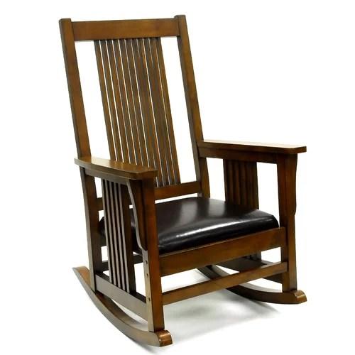 Carolina Cottage Mission Rocking Chair  Reviews  Wayfair