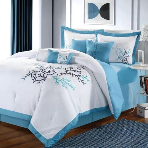 Coral Reef 8 Piece Comforter Set