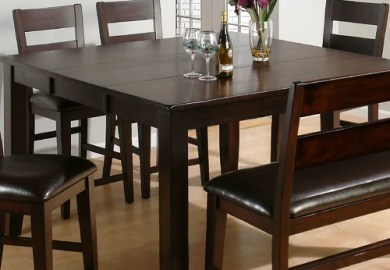 Jofran Rustic Prairie Distressed Dining Table With