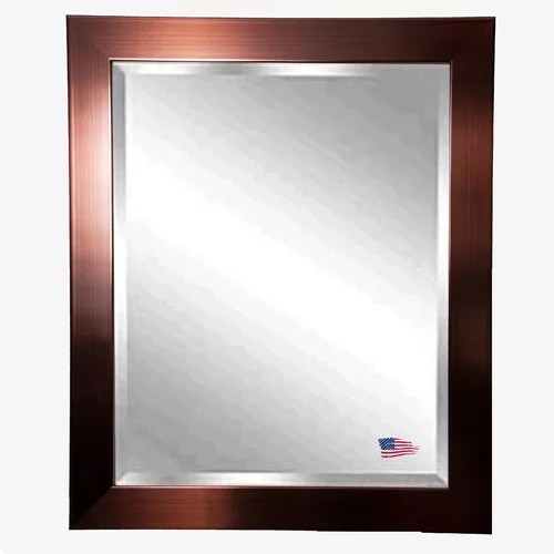 Bronze Bathroom Mirror  Wayfair