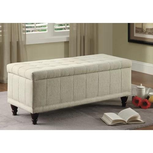 Woodbridge Home Designs Afton Fabric Bedroom Storage