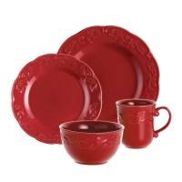 Paula Deen Spiceberry 16 Piece Stoneware Dinnerware Set ...