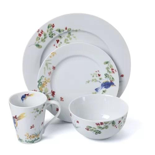 Paula Deen Spring Medley 16 Piece Dinnerware Set & Reviews
