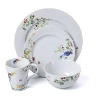 Paula Deen Spring Medley 16 Piece Dinnerware Set & Reviews ...