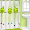Sweet jojo designs leap frog shower curtain amp reviews wayfair