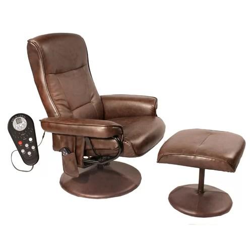 Comfort Products Relaxzen Leisure Reclining Heated Massage