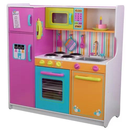 Kidkraft Deluxe Big Bright Kitchen Play Set