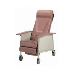 Invacare Clinical Recliner Geri Chair Real Electric Execution Deluxe 3 Position